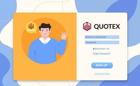 How to Sign Up and Login Account in Quotex Trading Broker